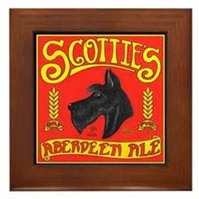 Scottie's Aberdeen Ale Framed Tile