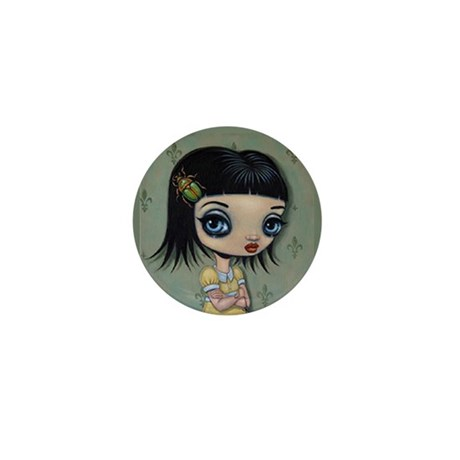 Latch Key Girl Mini Button