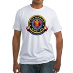 USS Heron MHC-52 Navy Ship Fitted T-Shirt