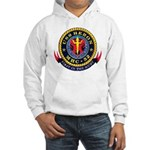 USS Heron MHC-52 Navy Ship Hooded Sweatshirt