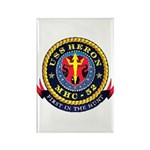 USS Heron MHC-52 Navy Ship Rectangle Magnet (10 pa