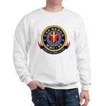 USS Heron MHC-52 Navy Ship Sweatshirt
