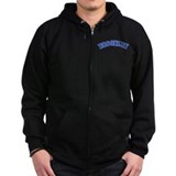 Brooklyn dodger Zip Hoodie (dark)
