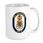 USS Halyburton FFG-40 Navy Ship Large Mug