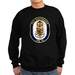 USS Halyburton FFG-40 Navy Ship Sweatshirt (dark)