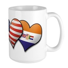 Funny Usa south africa Mug