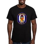 USS Ford FFG-54 Navy Ship Men's Fitted T-Shirt (da