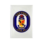 USS Ford FFG-54 Navy Ship Rectangle Magnet (100 pa