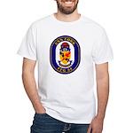 USS Ford FFG-54 Navy Ship White T-Shirt
