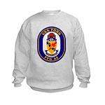 USS Ford FFG-54 Navy Ship Kids Sweatshirt