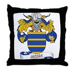 Mesia Coat of Arms Throw Pillow