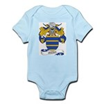 Mesia Coat of Arms Infant Creeper