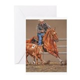A Western View Greeting Cards (Pk of 20)
