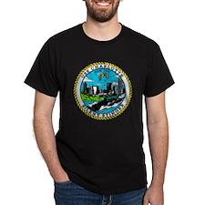 USS Charlotte SSN 766 Navy Ship T-Shirt