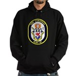 USS Cardinal MHC-60 Navy Ship Hoodie (dark)