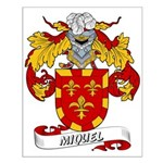 Miquel Coat of Arms Small Poster