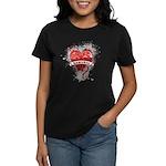Heart Samurai Women's Dark T-Shirt