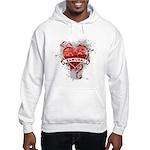 Heart Samurai Hooded Sweatshirt