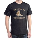 Funny Year of The Dog Black T-Shirt