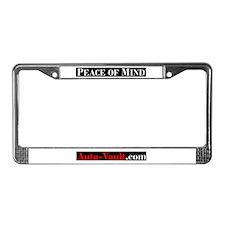Unique Vault License Plate Frame