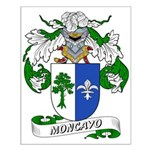 Moncayo Coat of Arms Small Poster