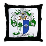 Moncayo Coat of Arms Throw Pillow