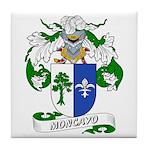 Moncayo Coat of Arms Tile Coaster