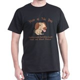 Cute Year of The Dog Black T-Shirt