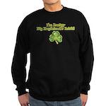 I'm Lucky My Boyfriend's Iris Sweatshirt (dark)