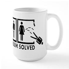 Problem solved - Man Mug