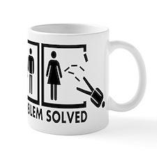 Problem solved - Man Small Mug