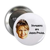 "Jesus Ponies 2.25"" Button"