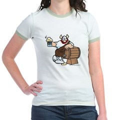 Hagar and Keg Jr. Ringer T-Shirt