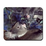 Mousepad - Koala Bear Mother & Baby