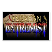 American Extremist Rectangle Decal