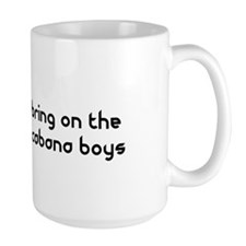 Bring on the Cabana Boys Flamingo Mug
