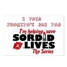 Juanita's Bar Tab Postcards (Package of 8)