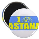 "Unique I love kazakhstan 2.25"" Magnet (10 pack)"