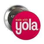 """Made with Yola"" Button: Medium"