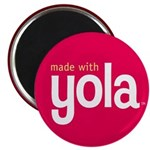 &quot;Made with Yola&quot; Magnet