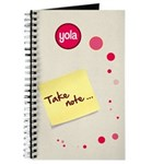 Yola &quot;Take note...&quot; Journal