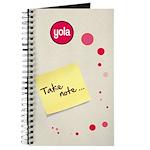 """Yola """"Take note..."""" Journal"""