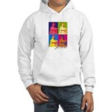 Jane Austen Pop Art Jumper Hoody