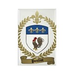 POULIOT Family Crest Rectangle Magnet (100 pack)