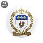 "POULIOT Family Crest 3.5"" Button (10 pack)"