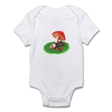 Unique Toadstool Infant Bodysuit