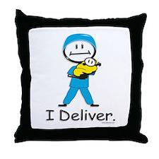 OB Doctor / Nurse Throw Pillow
