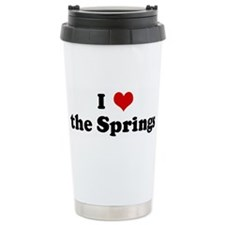 I Love the Springs Ceramic Travel Mug