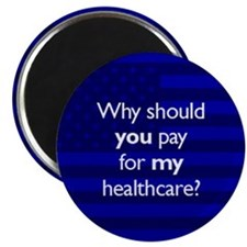 """Healthcare 2.25"""" Magnet (100 pack)"""