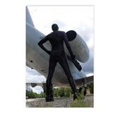 Airforce Way Zentai Set 2 - 2 Postcards (Package o
